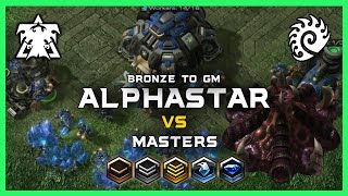 Proxy Hatchery vs AlphaStar Bronze to GM Ep5 [TvZ] Deepmind A.I. Starcraft 2
