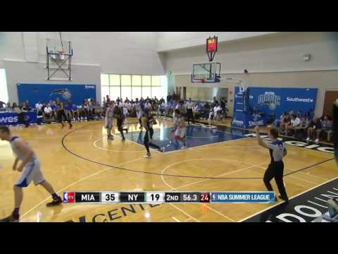 Miami Heat vs New York Knicks | July 3, 2016 | NBA Orlando Summer League 2016