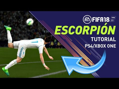 FIFA 18 ESCORPIÓN TUTORIAL - SCORPION KICK TUTORIAL - PS4/XBOX ONE