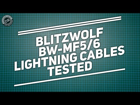 Dodgereviews - Testing new BlitzWolf Lightning cables