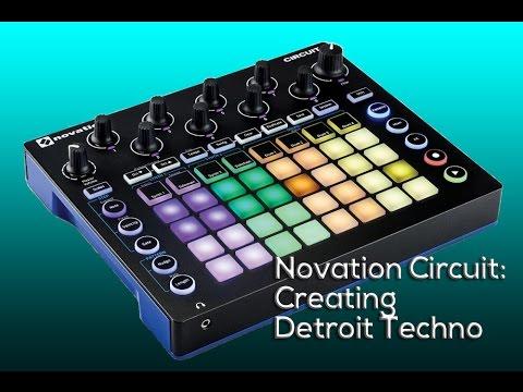 Novation Circuit: Creating a Detroit Techno Groove