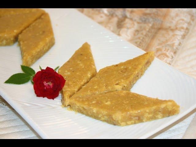 sddefault Besan ki Burfi (Magas)   Festival Sweets   By Hetal & Anuja