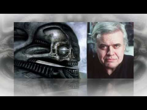 H.R. Giger, whose creations were featured in movie