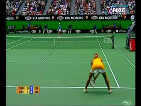 Nicole Vaidisova vs Elena Dementieva 2007 AO Highlights