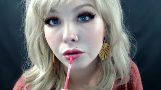 ASMR Lipgloss Application-Mouth Sounds-Lipgloss Collection 👄