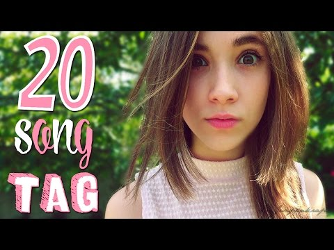20 SONGS TAG || ¿Qué música escucho? || ¡La semana de los TAGS!