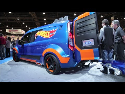 Ford Transit Connect Hot Wheels Concept 2013 Sema Show