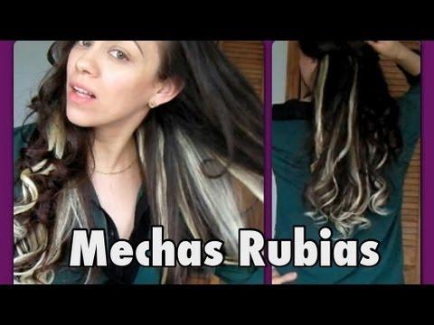 Como me arreglo el pelo {EXTENSIONES RUBIAS}