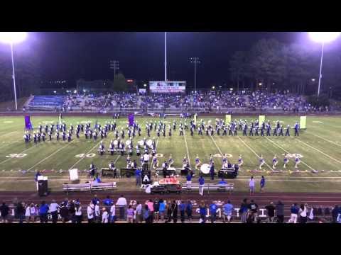 Arab High School Marching Band 09/26/2014