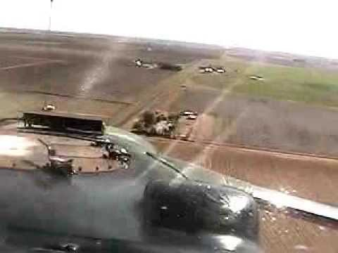 Cropdusting in Plainview, TX 2001 - Dodging Tower