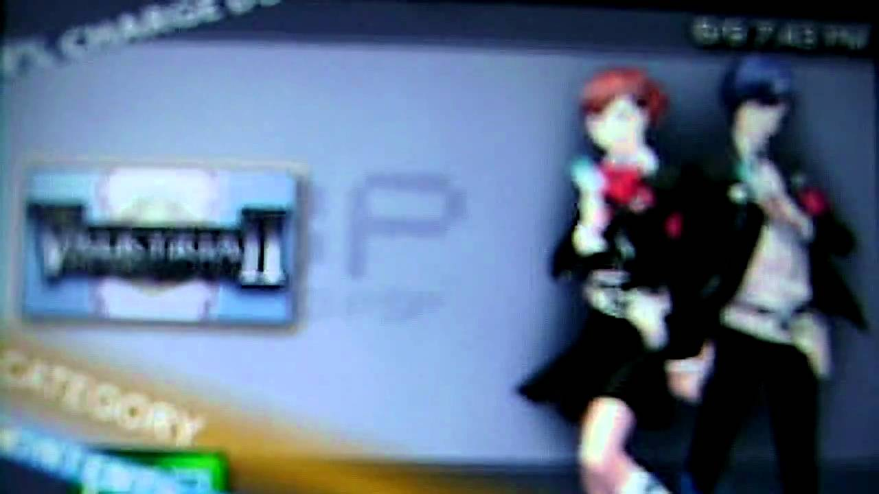 Persona 3 Theme For Psp my Custom Psp Theme Persona