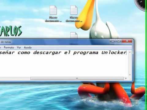 Descargar Unlocker Tutorial