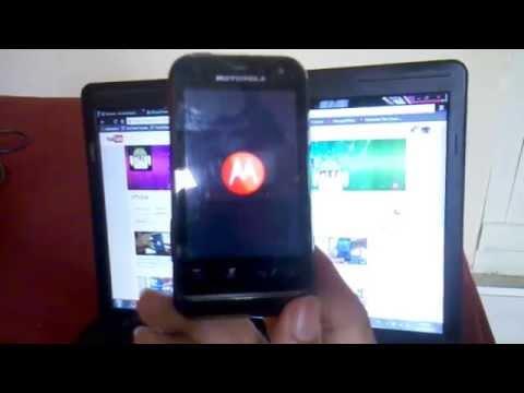 Hard Reset no Motorola XT 321 (Defy Mini) #UTICell