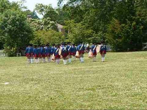 Central York Middle School Fife and Drums.wmv