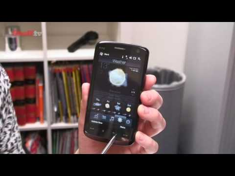 HTC Touch HD video review from Stuff.tv - the gadget guide