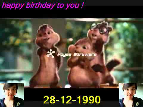 Youtube   Chipmunks   Happy Birthday To You!!! video