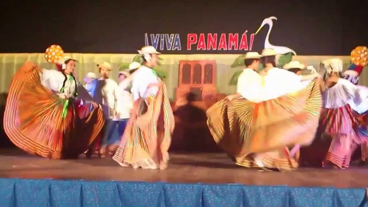 Baile t 237 pico en el colegio san agust 237 n de chiriqu 237 rep 250 blica de