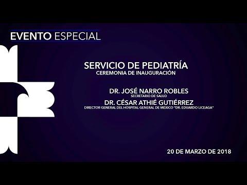 Ceremonia de Inauguración del Servicio de Pediatría thumbnail