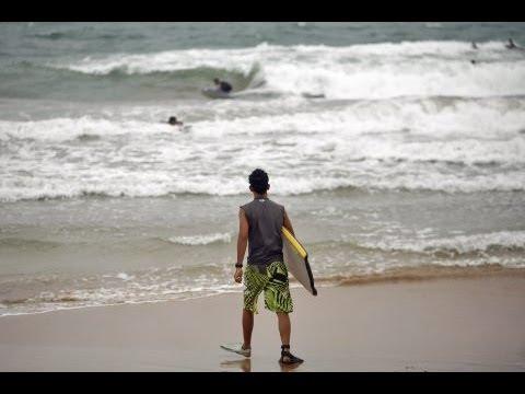 Tropical Storm Irene hits Puerto Rico