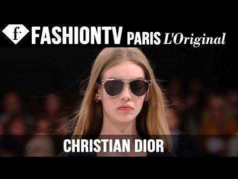 Christian Dior Spring summer 2015 First Look   Paris Fashion Week   Fashiontv video