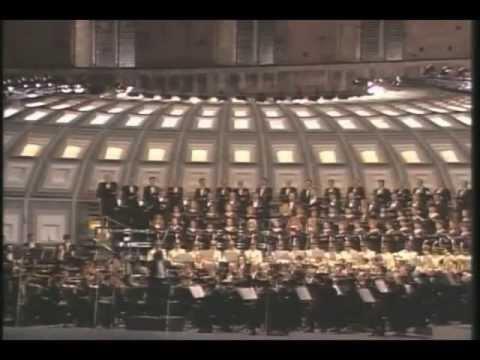 P I Czajkowski 1812 OUVERTURE SOLENNELLE direttore Zubin Mehta