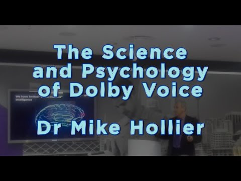 The Science and Psychology of Dolby Voice