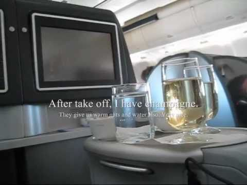 United Airlines Business Class Boeing B767 Lie-Flats San Francisco to London via Chicago 2011