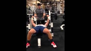Pat Godfrey 31 reps of 225 lbs Bench