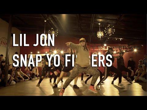 download lagu SNAP YO FINGERS Lil Jon - Dance Choreogr gratis