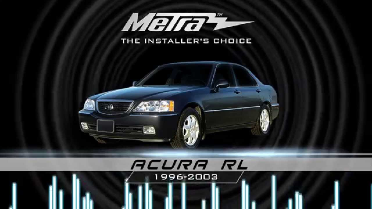 Acura Legend Dash Kit Metra Acura rl Stereo Dash Kit