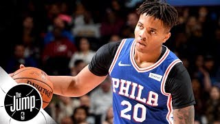 Markelle Fultz's saga continues with trainer's since-deleted tweet | The Jump