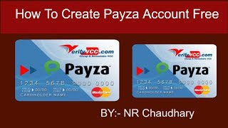 How To Create Payza Account in Nepal    BY NR Chaudhary.