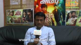 Ramesh Subramaniam At Vil Ambu Movie Team Interview