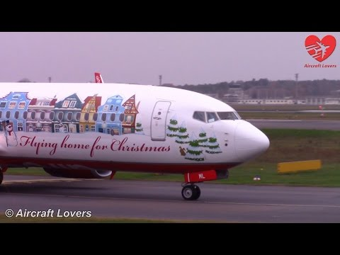 *Flying home for Christmas 2014* Air Berlin Boeing 737 @ Germany, Berlin-Tegel 07.12.14
