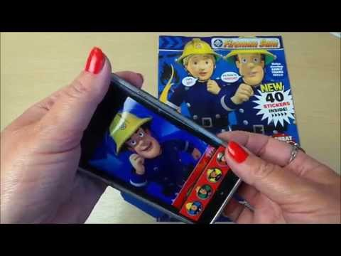 Fireman Sam In Action Comic Review With Cell Phone Case & Toy Mobile