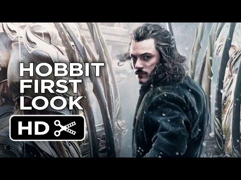 The Hobbit: The Battle of the Five Armies - Poster First Look (2014) - Martin Freeman Movie HD