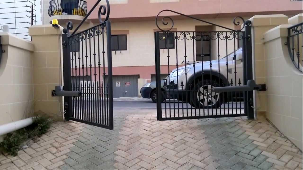Rotello series swing gate motor installation issued by for Gate motor installation prices