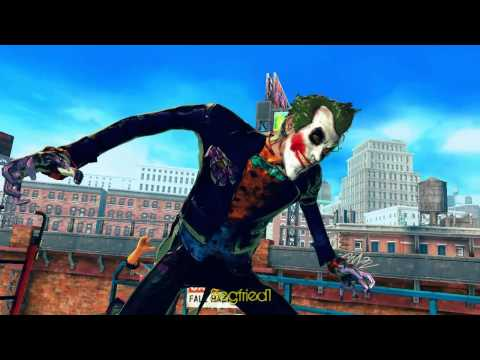 Street Fighter X Tekken PC - Joker and catwoman (arkham city)