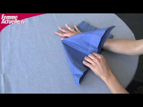 Origami Pliage De Serviette Fleur De Lotus Chinoise