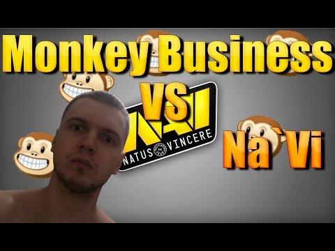 Папич (EvilArthas): Monkey Business VS Na`Vi