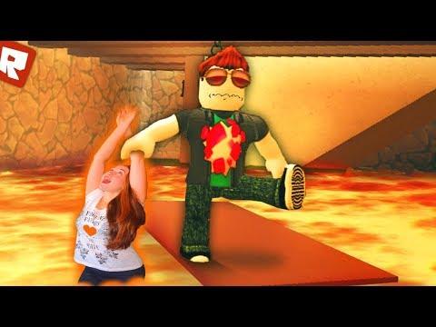 ПОЛ ЭТО ЛАВА Челлендж Роблокс THE FLOOR IS LAVA CHALLENGE ROBLOX Family Fun Kids Pretend Playtime
