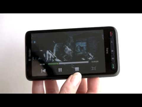 T-Mobile HTC HD2 Video Review
