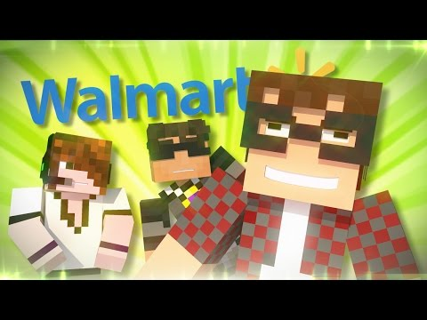 Minecraft Animated Short : POOPING IN WALMART?!