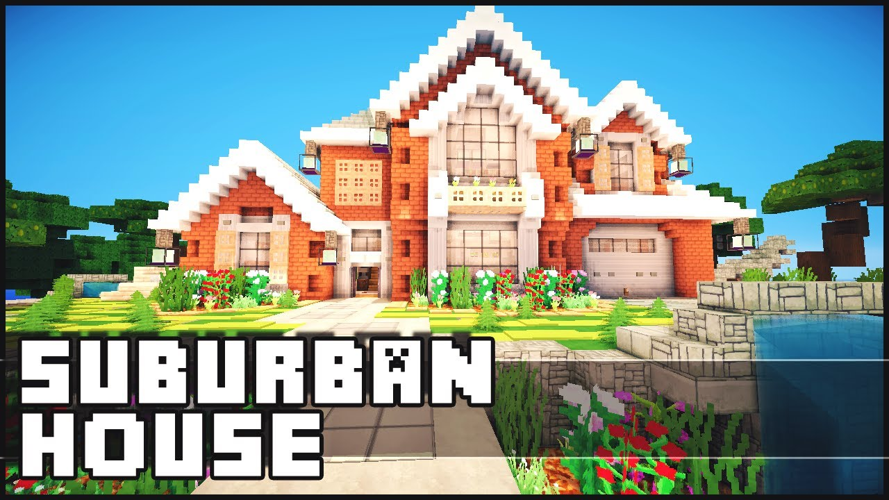Minecraft Suburban House Youtube
