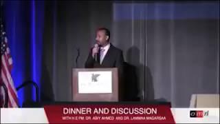 Dr. Abiy diner minisota USA