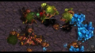 Effort (Z) v Hydra (Z) on Rush Hour - StarCraft  - Brood War REMASTERED