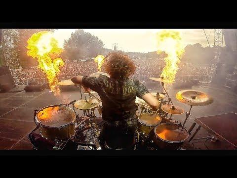 Miloš Meier - Masters of Rock 2017 - Dymytry drum solo