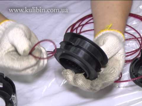 Триммер ставр как заменить леску