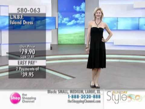 L.n.b.f. Island Dress At The Shopping Channel 580063