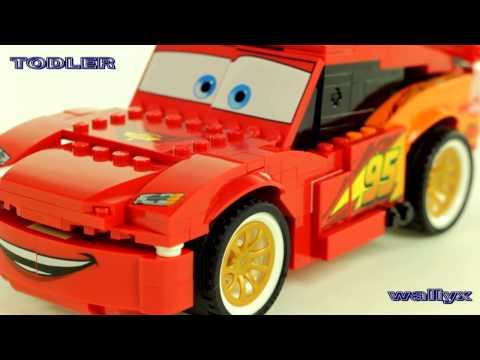 Lego 8484 Duży Zygzak McQueen Auta 2